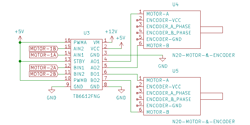 Line Follower Robot TB6612FNG  Motor Driver Connection With N20 Motor
